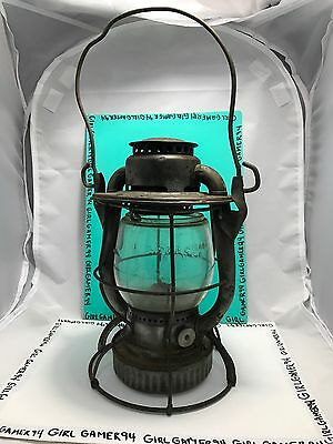 Vtg Dietz Vesta Railroad Train N.Y.C.S. New York Central System Lamp Lantern USA