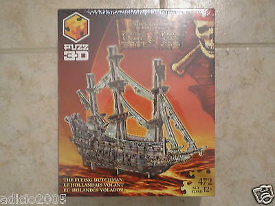 Wrebbit Puzz 3D puzzle Pirates of Caribbean Flying Dutchman Factory Sealed Box