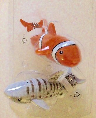 Lil' Fishys Motorized Water Pets – Lucky and Chomps NEW Bath and POOL toys!