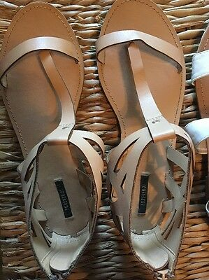 Two Pairs Of Women's Sandals, Size 8