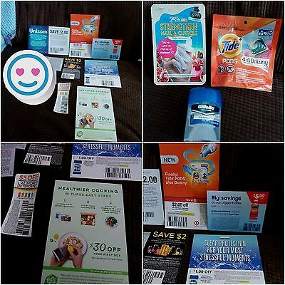Coupons Samples Unisom, Enfamil, Tide, HelloFresh, Gillette, TIDE, L'Oreal LOT