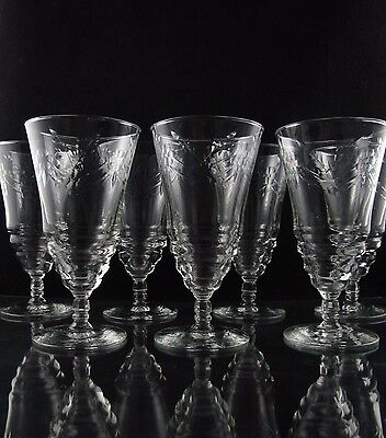 Rock Sharpe Arctic Rose Iced Tea Glasses, Set of (7)
