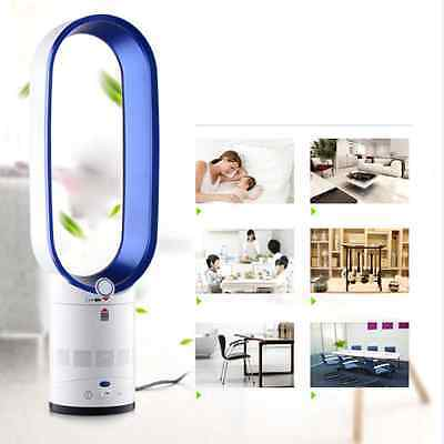 """1x Bladeless Fan 16""""  With Remote Control AirFlow Cooling  Fan Low db"""
