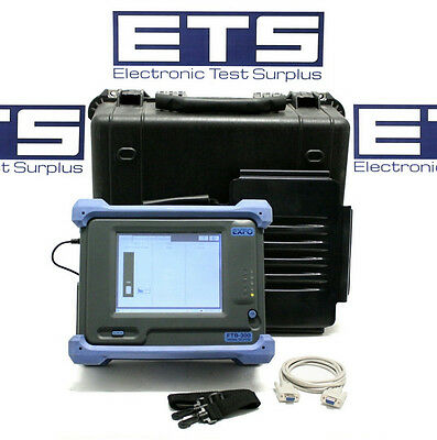 Exfo FTB-300 SM Fiber Optic OTDR With FTB-7323B-B-EI Module