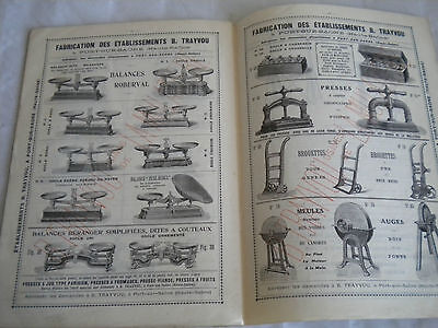 vintage catalogue 1913 scales jewelry kitchen people railway weighing machines