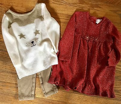 Lot Of 2 Winter Girl Clothes 24 Months