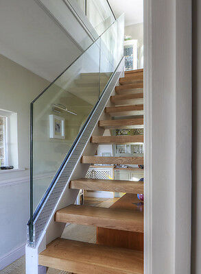 17.5mm STAIRCASE GLASS - TOUGHENED AND LAMINATED -POLISHED ALL ROUND. MADE IN U
