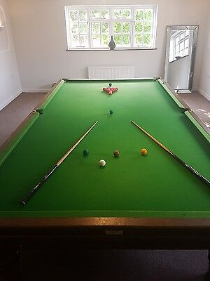Full size Snooker Table 12ft x 6ft