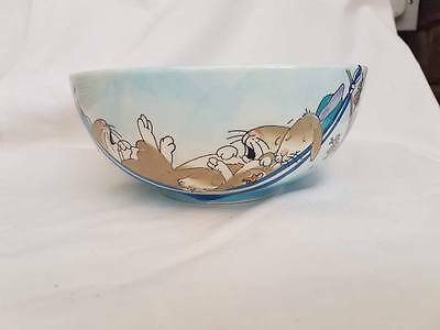 Whittard of Chelsea Hand Painted Bowl -Bunnies