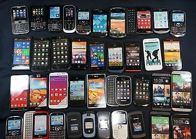 Huge Lot of 38 Dummy Display Phones Not Real or Working Phones