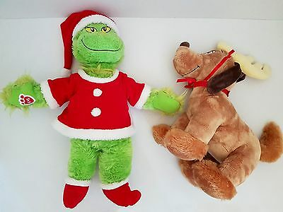Build a Bear Workshop - THE GRINCH & MAX THE DOG