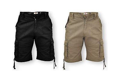 D555 Cargo Shorts (Jarrod) in Waist 42 to 56 Inches, 2 Color Options