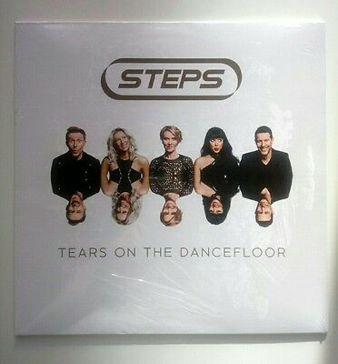 Steps Tears On The Dancefloor Limited Neon Blue Vinyl Lp New Sealed