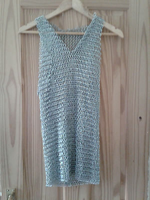 CHAIN MAIL VEST-SOLID METAL CHAINS...not aliminium