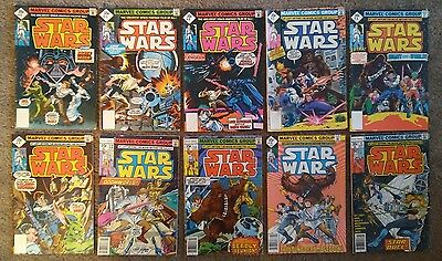 Marvel Star Wars lot of 10 comics, #4-9 and #12-#15