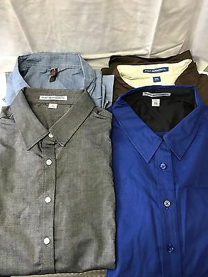 Wholesale Discounts! Mixed Bulk Lot - 40 NEW Button Down Dress Shirts Oxford