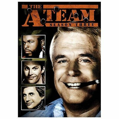 The A-Team - Season 3 (DVD, 2013, 6-Disc Set)