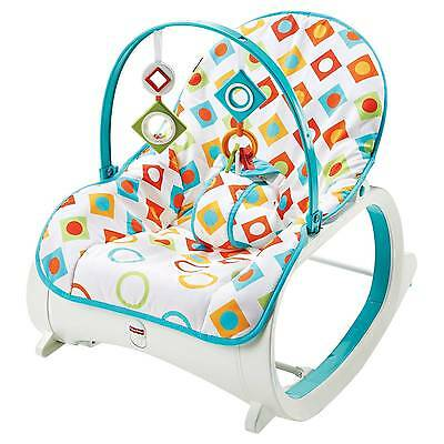 Fisher-Price® Infant-to-Toddler Rocker - Geo Diamonds CMP83