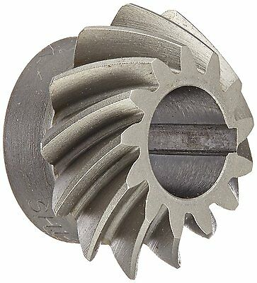 "Boston Gear SH142-P Spiral Bevel Pinion Gear, 2:1 Ratio, 0.438"" Bore, 14 Pitch"