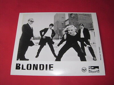 BLONDIE DEBBIE HARRY  10 x 8 inch promo photo photograph #F096_4314