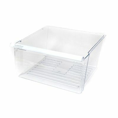 2188656 Whirlpool Refrigerator Crisper Pan Drawer WP2188656 OEM 2174109 Clear