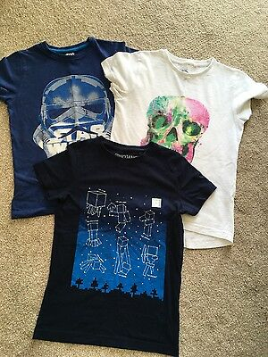 3 Boys Next T-shirts, age 8yrs, excellent condition