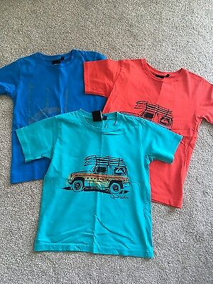 3 Boys Quicksilver t-Shirts, 6-7yrs, perfect condition