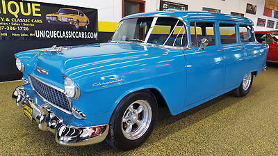 1955 Chevrolet 210  1955 Chevrolet Bel Air Wagon Streetrod LT1 Engine Overdrive Transmission and AC!