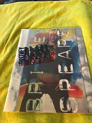 Britney Spears The Britney Tour 2001 Concert Book