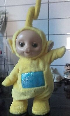 Telly Tubbies La La Tomy Plush Singin/ Music Dancing Sounds Excellent Condition