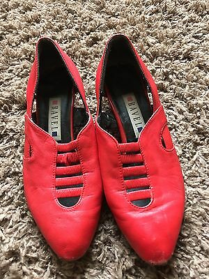 Vintage Shoes Ravel 4 80s Pixie New Wave