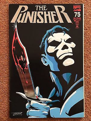 THE PUNISHER Vol 2 #75 (embossed cover and foil logo/detail) 1993 Marvel Comics