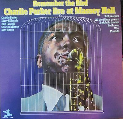 Charlie Parker Rare Vinyl * Remember The Bird * Live Album With Dizzy Gillespie