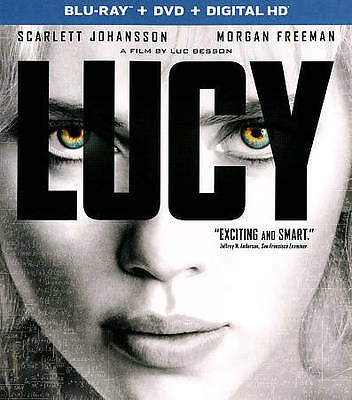 Lucy (Blu-ray/DVD, 2015, 2-Disc Set, Includes Digital Copy)
