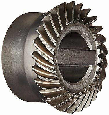 "Boston Gear SH-192-G Spiral Bevel Gear, 2:1 Ratio, 0.625"" Bore, 19 Pitch"