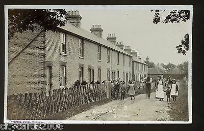 Sussex  WADHURST  George Street  with houses and  people    RP