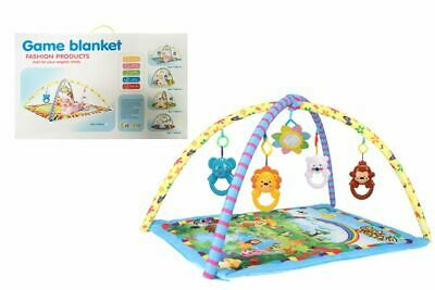 Baby Gym Activity Forest Playmat Play Mat with toys for Boys or Girls