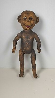 "RARE 1957 Zip ""Zippy"" The Chimp Doll - Ginger's Playmate Cosmopolitan Toy Co"