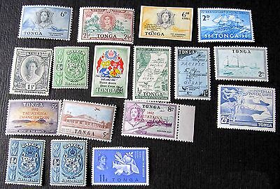 Lovely Old Mint Stamps From Tonga