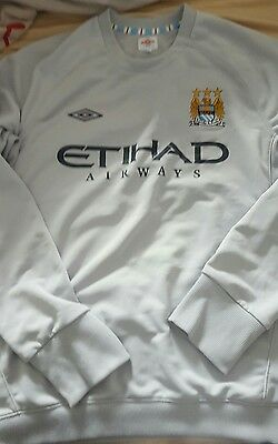 sweat training MANCHESTER CITY taille XL UMBRO