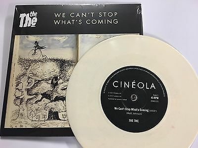 The The We Can't Stop What's Coming White Vinyl New Sealed Single Sided