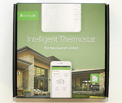 Building36 Intelligent Thermostat + Cellular Hub