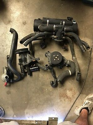 MERCRUISER350 MAG 5.0L,350 MAG,MX 6.2L MPI STERNDRIVE closed cooling system