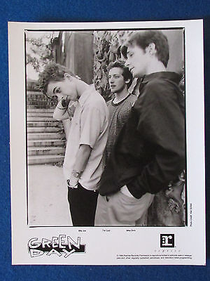 "Original Press Promo Photo - 10""x8"" - Green Day - 1994"