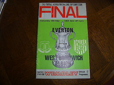EVERTON v WEST BROMWICH ALBION - F.A. Cup Final 1968
