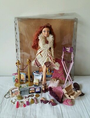 My Scene Goes to Hollywood LINDSAY LOHAN w/box Barbie Doll