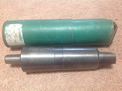 Vintage No. A0506 Jacobs Chuck Arbor, No. 5 Morose Taper with No. 6 Jacobs Taper