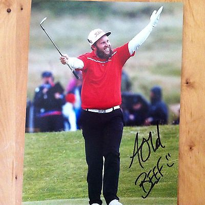 ANDREW JOHNSTON ( GOLF ) signed BEEF autographed 10x8 photo