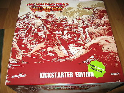 The Walking Dead All Out War Miniatures Game Kickstarter all Strechgoals Wave1&2