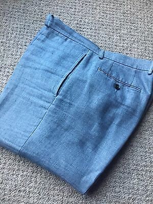 Burberry Prorsum Slim Fit Summer Trousers (32) Mod Cool